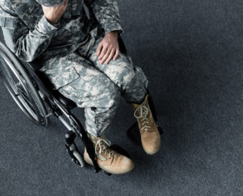 Veterans with disabilities